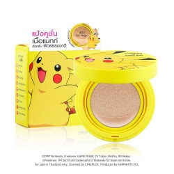 AA Matte Powder Cushion Oil Control SPF50 PA+++ 15g Cathy Doll Pokemon Edition
