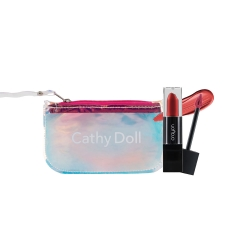 *Pro Mother Day* Creamy Matte lip 3g #05+Hologram Clutch (Small) Set Crayon All