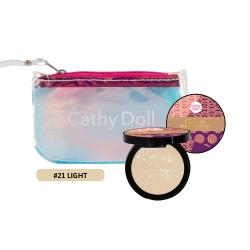 Geisha Powder Pact (Light)+Clutch S Set Cathy Doll All