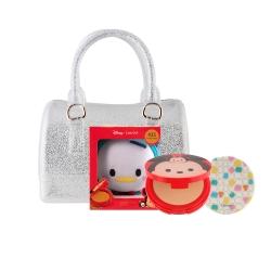 Tsum Tsum CC Powder Pact 12g #25 (Donald Duck)+Mini Jelly Bag Set Cathy Doll All