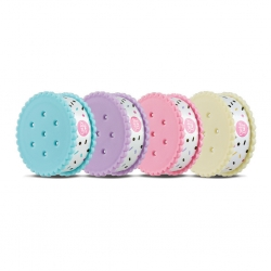 Biscuit Nail Polish Remover Pad Plus Aloe and Almond Oil 30Sheets Cathy Doll