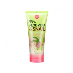 Aloe vera & Snail Serum Soothing Gel 60g Cathy Doll