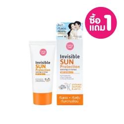 *โปรโมชั่น ซื้อ1แถม1* Invisible Sun Protection SPF33 PA+++ 20g Cathy Doll