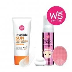 *โปรโมชั่น Summer Sale Makeup & Sun Care Collection* Invisible Sun Protection SPF33 PA+++ 60g Cathy Doll