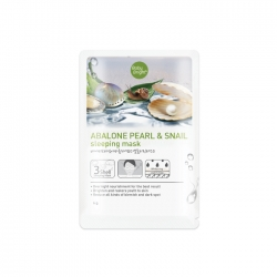 *Pro 10.10 Big Sale* Abalone Pearl & Snail Sleeping Mask 6g Baby Bright