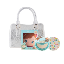 *Pro Mid Year Sale 1 Tsum Tsum Oil Control Pact 12g (Anna)+Mini Jelly Bag Set Cathy Doll All