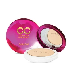 *Pro Mid Year Sale* CC Powder Pact SPF40 PA+++ 12g Cathy Doll Speed White Cathy Doll CC