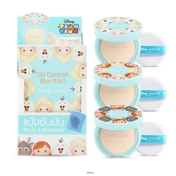 *โปรโมชั่น Tsum Tsum* Oil Control Blur Pact 4.5g Cathy Doll Disney Tsum Tsum Natural Blur 3Pcs.