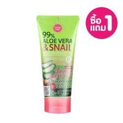 1Free1* 99%Aloe Vera & Snail Serum Soothing Gel 300g Cathy Doll