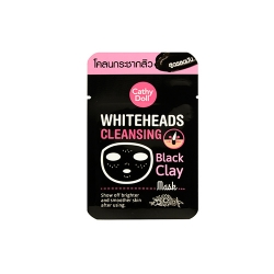 Whiteheads Cleansing Black Clay Mask 5g Cathy Doll (F) (Y2018)