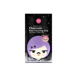 Charcoal Nose Cleansing Strip 1 Pcs. Cathy Doll Super Girl (7Presenters)