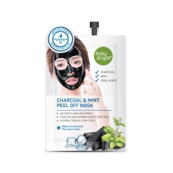 Charcoal & Mint Peel Off Mask 10g Baby Bright