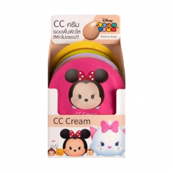 *โปรโมชั่น Tsum Tsum* CC Cream SPF15 4ml Cathy Doll Disney Tsum Tsum Medium Beige 12Pcs.