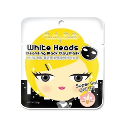 White Heads Cleansing Black Clay Mask 25g Cathy Doll