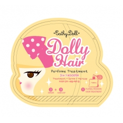 3in1 Booster Treatment 15ml + Hair Cap 5ml Cathy Doll Dolly Hair