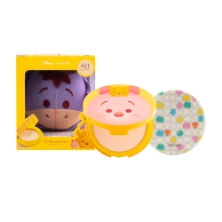 *โปรโมชั่น Tsum Tsum* CC Powder Pact SPF40 PA+++ 12g Cathy Doll Disney Tsum Tsum #21 Light Beige (Eeyore)