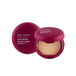 *KristSingto*Red Wine Cover Pact SPF30 PA++ 6.5g Baby Bright