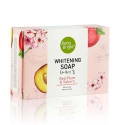 Red Plum & Sakura Whitening Soap 55g Baby Bright