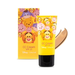 *โปรโมชั่น Tsum Tsum* CC Cream SPF15 30ml Cathy Doll Disney Tsum Tsum #Medium Beige