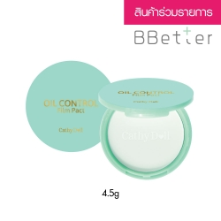 *BBetter* Oil Control Film Pact 4.5g Cathy Doll #Translucent