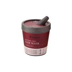 Silicone-Free Hair Mask Anti-Damage Formula Pomegranate & Blue Trumpet Vine 200g Reunrom