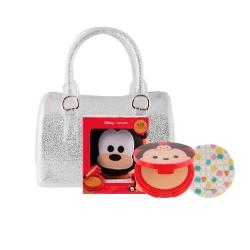 Tsum Tsum CC Powder Pact 12g #25 (Goofy)+Mini Jelly Bag Set Cathy Doll All