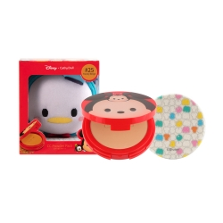 *โปรโมชั่น Tsum Tsum* CC Powder Pact SPF40 PA+++ 12g Cathy Doll Disney Tsum Tsum #25 Honey Beige (Donald Duck)
