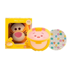 *โปรโมชั่น Tsum Tsum* CC Powder Pact SPF40 PA+++ 12g Cathy Doll Disney Tsum Tsum #21 Light Beige (Tigger)