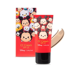 *โปรโมชั่น Tsum Tsum* CC Cream SPF15 30ml Cathy Doll Disney Tsum Tsum #Honey Beige