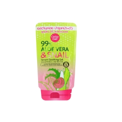 99% Aloe Vera & Snail Serum Soothing Gel 10g Cathy Doll