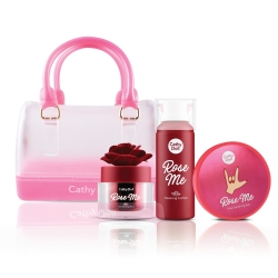 Rose Me Facial Care+Mini Jelly Bag Set Cathy Doll All