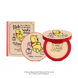 *Pro 10.10 Big Sale*  Honey AA Powder Pact SPF30 PA+++ 9g Baby Bright Disney Winnie the Pooh Baby Bright P
