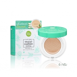 Aloe Snail Moist Cushion SPF50 PA+++ 6g Baby Bright A #23 Natural Bright Baby Bright P