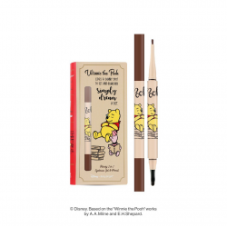 *Pro 10.10 Big Sale* Honey 2 in 1 Eyebrow Gel & Pencil 0.8+0.18g Baby Bright Disney Winnie the Pooh Baby Bright P
