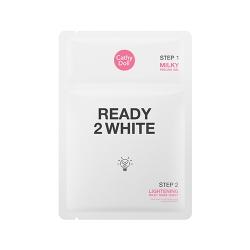 Lightening Milky Mask Sheet 3.5ml+25g Cathy Doll Ready 2 White