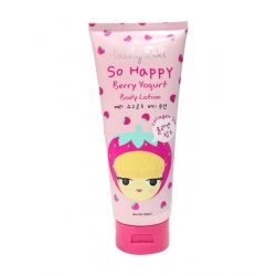 Strawberry Yogurt Body Lotion 230ml. Cathy Doll So Happy