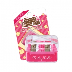 Dual Pencil Sharpener Cathy Doll Sweety Accessories