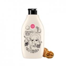 *โปรโมชั่น Mid Year Sale ซื้อ 1 ฟรี 1* Donkey Milk & Malt Body Scrub 300ml Cathy Doll