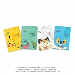 *โปรโมชั่น* Mask Sheet 25g Cathy Doll Pokemon Edition