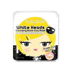 White Head Cleansing Black Clay Mask 5g. Cathy Doll