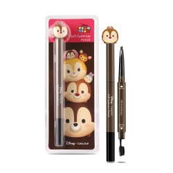 *โปรโมชั่น Tsum Tsum* Soft Eyebrow Pencil 0.28g Cathy Doll Disney Tsum Tsum #04 Dark Brown