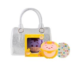 Tsum Tsum CC Powder Pact 12g #21 (Eeyore)+Mini Jelly Bag Set Cathy Doll All