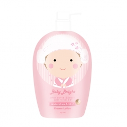 Glutathione & Vit C Shower Lotion 750ml Baby Bright