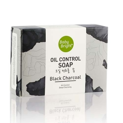 *Pro Skin Care* Black Charcoal Oil Control Soap 55g Baby Bright