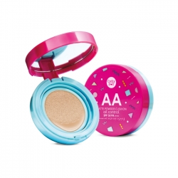 AA Matte Powder Cushion Oil Control SPF50 PA+++ 6g Cathy Doll #23 Natural Beige