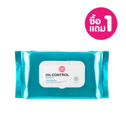 *Pro 10.10 Big Sale 1 Free 1* Oil Control Wet Tissue 100Sheets Cathy Doll