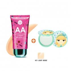 * โปรโมชั่น Hot Price Hot Item * AA Automatic Aura Cream SPF45 PA+++ 50g Cathy Doll