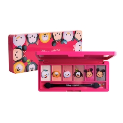 *โปรโมชั่น Tsum Tsum* Eyeshadow Palette 1g x 6Colors Cathy Doll Disney Tsum Tsum #01 Rose Princess