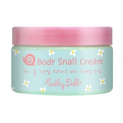 Body Snail Cream 220ml. Cathy Doll Snail Bright
