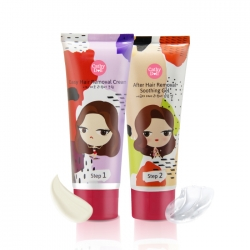 Easy Hair Removal Cream+After Hair Removal Soothing Gel 70+70g Cathy Doll